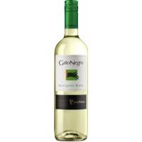 Вино Чили Gato Negro Sauvignon Blanc / Гато Негро Совиньон Блан, Бел, Сух, 0.75 л [7804300010645]