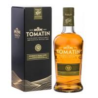 Виски Шотландии Tomatin 12 yo / Томатин 12-летний, 0.7 л [5018481100213]