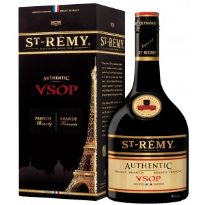Бренди Франции  Saint Remy Authentic VSOP 4 yo / Сан-Реми Аутентик ВСОП 4 года, 0.7 л (под.уп) [3161423070012]