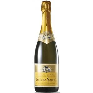 Вино игристое Франции Gustave Lorentz Cremant d'Alsace Brut / Густав Лоренц Креман д'Эльзас Брют, Бел, Сух, 0.75 л [3328770000004]