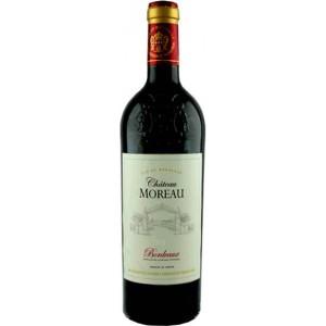 Вино Франции Chateau Moreau Bordeaux / Шато Моро Бордо, Кр, Сух, 0.75 л [3500610076916]