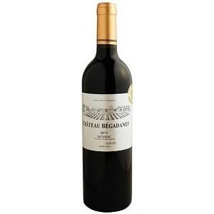 Вино Франции Chateau Begadanet Medoc / Шато Бегадане Медок, Кр, Сух, 0.75 л [3760125140025]