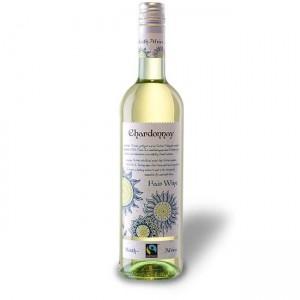 Вино ЮАР Fair Wine, Chardonnay - Chenin Blanc / Фэр Вайн Шардоне - Шенен Блан, Бел, Сух, 0.75 л [4003301078491]
