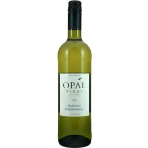 Вино Австралии Opal Ridge Semillon Chardonnay / Опал Ридж Семильон, Шардоне, Бел, Сух, 0.75 л [4011831458201]
