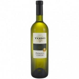 Вино Италии Toso Piemonte Cortese / Тосо Пьемонте Кортезе, Бел, Сух, 0.75 л [8002915000863]