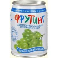 Фрутинг Кореи Мультифрут с кусочками винограда, 0.238 л (ж/б) [4601801000044]