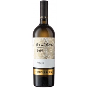 Вино Украины Inkerman Reserve Riesling / Инкерман Резерв Рислинг, Бел, Сух, 0.75 л [4823090000288]