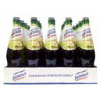 Лимонад Грузии Natakhtari / Натахтари (Груша), 0.5 л (стекляная бутылка) [4860001120437]
