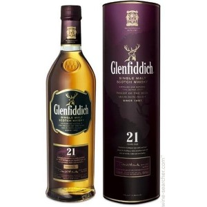 Виски Шотландии Glenfiddich Single Malt 21 yo / Гленфиддик Сингл Молт 21 ео, 0.7 л [5010327324081]