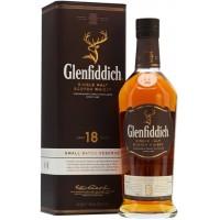 Виски Шотландии Glenfiddich Single Malt 18 yo / Гленфиддик Сингл Молт, 40%, 0.7 л [5010327325132]