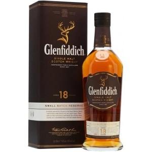 Виски Шотландии Glenfiddich Single Malt 18 yo / Гленфиддик Сингл Молт 18 ео, 0.7 л [5010327325132]