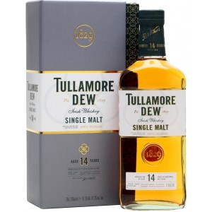 Виски Ирландии Tullamore Dew Original Single Malt 14 yo / Талмор Дью Ориджинал Сингл Молт 14 ео, 0.7 л [5391516892070]