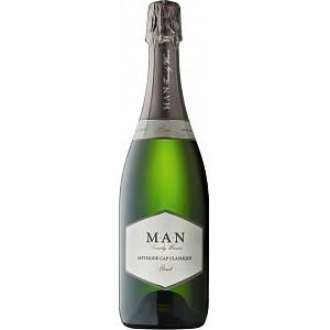 Вино игристое ЮАР MAN Cap Classique Brut / МАН Кэп Классик Брют, Бел, Брют, 0.75 л [6009801341187]
