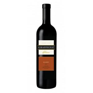 Вино Аргентини Graffigna Clasico Malbec / Граффина Класико Мальбек, Кр, Сух, 0.75 л [7790168002390]