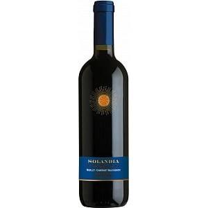 Вино Италии Solandia Merlot-Cabernet Sauvignon / Соландия Мерло-Каберне Совиньон, Кр, Сух, 0.75 л [8000160652370]