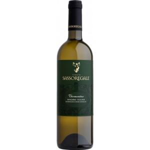 Вино Италии Sassoregale Vermentino / Сассорегале Верментино, Бел, Сух, 0.75 л [8001231001301]