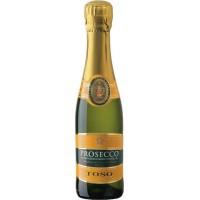 Вино игристое Италии Toso Prosecco Extra Dry DOC, бел, сух, 0.2 л [8002915002478]