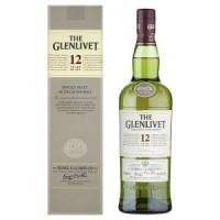 Виски Шотландии The Glenlivet 12 yo / Гленливет 12 ео, 0.7 л (под. уп) [80432402825]