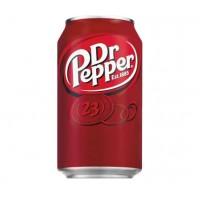 Напиток безалкогольный Польши Dr Pepper / Др Пеппер, 0.33 л (ж/б) [8435185944009]