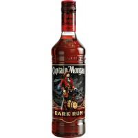 Ром Карибских островов Captain Morgan Dark / Капитан Морган Дарк, 1 л [087000006935]