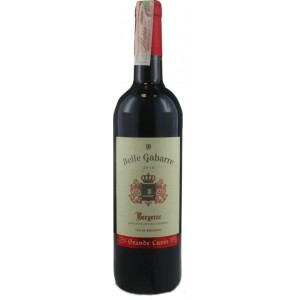 Вино Франции Belle Gabare Bergerac / Бэль Габарон Бержерак, Кр, Сух, 0.75 л [3306380131752]