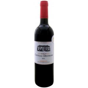 Вино Франции Chateau Dintrans Bordeaux / Шато Динтранс Бордо, Кр, Сух, 0.75 л [3522260004460]