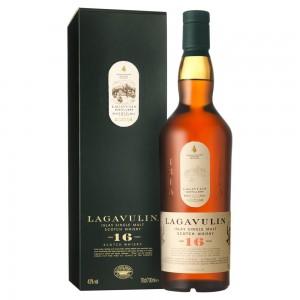 Виски Шотландии Lagavulin 16 yo / Лагавулин 16 ео, 0.7 л (под.уп.) [5000281005409]