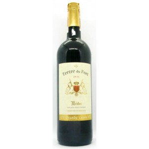Вино Франции Tertre du Fort Medoc / Тертр дю Форт Медок, Кр, Сух, 0.75 л [3306380131738]