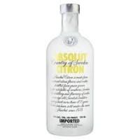 Водка Швеции Absolut Сitron / Абсолют Лимон, 0.7 л [7312040090709]
