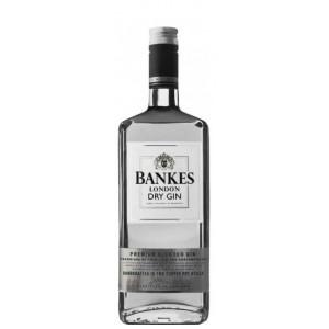 Джин Великобритании Bankes London Dry Gin / Бэнкерс Лондон Драй Джин, 1 л [8000040520010]