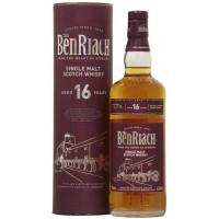 Виски Шотландии BenRiach 16 yo / Бенриах 16 ео, 0.7 л (тубус) [5060088790120]