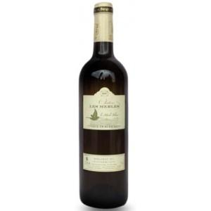 Вино Франции ChateauLesMerlesRéserveBlancSecBergerac / Шато Ле Мерль Резерв Бланк Сек Бержерак, Бел, Сух, 0.75 л [3462170715615]
