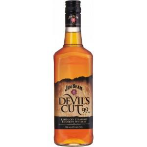 Бурбон США Jim Beam Devil Cut / Джим Бим Девилс Кат, 0.7 л [5060045582669]