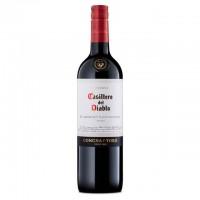 Вино Чили Casillero del Diablo Cabernet Sauvignon / Казильеро дель Дьябло Каберне Совиньйон, Кр, Сух, 0.75 л [7804320303178]