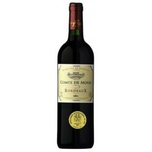 Вино Франции ComteDeMourBordeaux / Комт де Мур Бордо, Кр, Сух, 0.75 л [3491871013645]