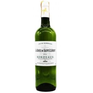 Вино Франции LaCroixdeStaintClementBordeauxBlanc / Ла Круа де Сент-Клемент Бордо, Бел, Сух, 0.75 л [3491871013638]