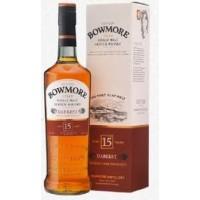 Виски Шотландии Bowmore Darkest 15 yo / Бомо Даркест 15 ео, 0.7 л (под.уп.) [5010496020821]