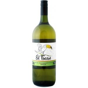 Вино Испании El Tuсan Blanco / Эль Тукан Бланко, Бел, П/Сл, 1.5 л [8422795001123]