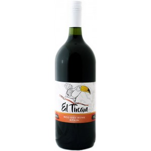 Вино Испании El Tucan Rosso / Эль Тукан Россо, Кр, Сух, 1.5 л [8422795001116]