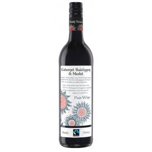 Вино ЮАР Fairwine Cabernet Sauvignon – Merlot / Фэрвайн Каберне Совиньон – Мерло, Кр, Сух, 0.75 л [4003301045646]