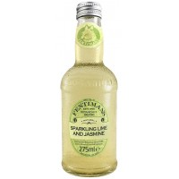 Напиток газированный Великобритании Fentimans Lime and Jasmine / Фентиманс Лайм и Жасмин, 0.275 л [5029396000147]