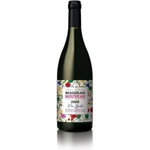 Вино Франції Domaine du Pere Guillot, Beaujolais Nouveau, кр, сух, 0.75 л [3760217671062]