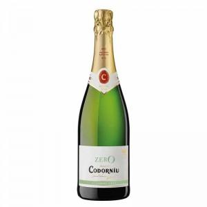 Вино игристое Испании Codorniu Zero / Кодорнью Зеро, 0%, бел, сух, 0.75 л [8410013016493]