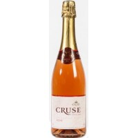 Вино игристое Франции Cruse Rose / Круз Розе, Роз, Сух, 0.75 л [3500610037108]