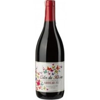 Вино Франции Paul Florian Cotes du Rhone Nouveau, кр, сух, 0.75 л [3120581433442]