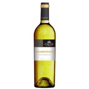 Вино Франции Cruse Chardonnay, Бел, Сух, 0.75 л 13% [3500610062643]