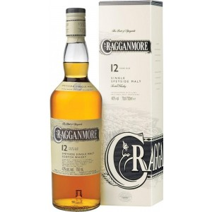 Виски Шотландии Cragganmore 12 yo / Краганмо 12 ео, 0.7 л (под.уп.) [5000281005430]