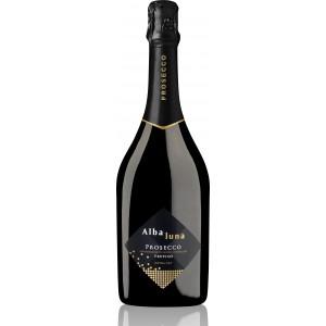 Вино игристое Италии Alba Luna Prosecco DOC (Альба Луна Просекко), Бел, Сух, 11%, 0.75 л [8002550504818]