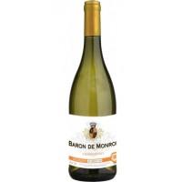 Вино Франции Baron de Monroe Chardonnay / Барон де Монро Шардоне, бел, сух, 13%, 0.75 л [3186127800796]