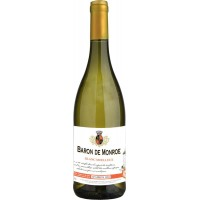 Вино Франции Baron de Monroe Blanc Moelleux / Барон де Монро Блан Моэлле, Бел, П/Сл, 0.75 л [3186127800857]